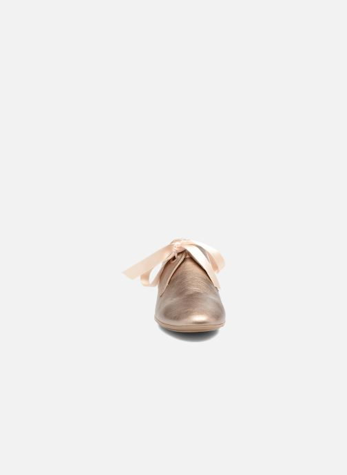Chaussures à lacets Georgia Rose Astral Or et bronze vue portées chaussures