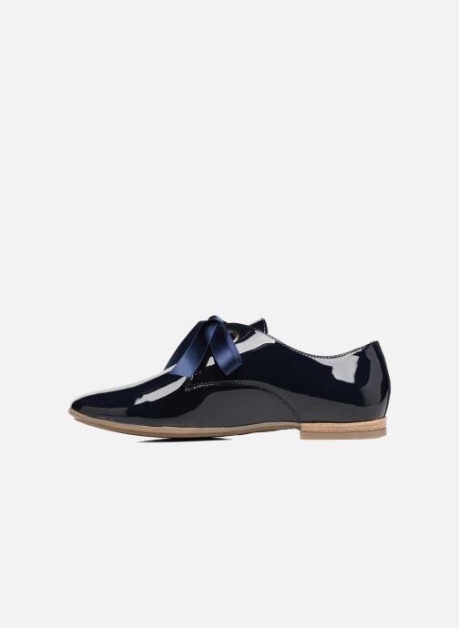 Chaussures à lacets Georgia Rose Astral Bleu vue face