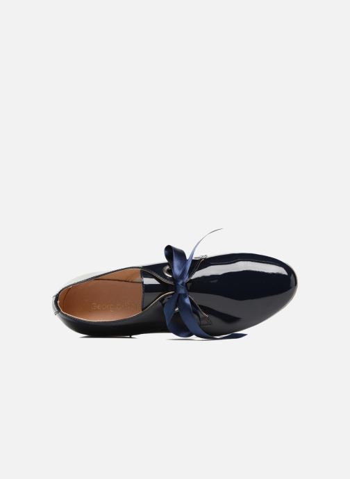 Chaussures à lacets Georgia Rose Astral Bleu vue gauche