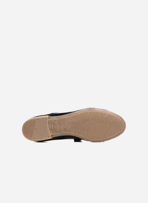 Chaussures à lacets Georgia Rose Astral Bleu vue haut