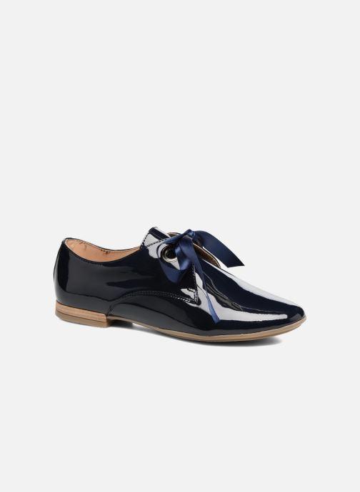 Chaussures à lacets Georgia Rose Astral Bleu vue détail/paire