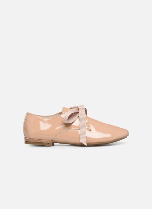 Veterschoenen Georgia Rose Astral Beige achterkant
