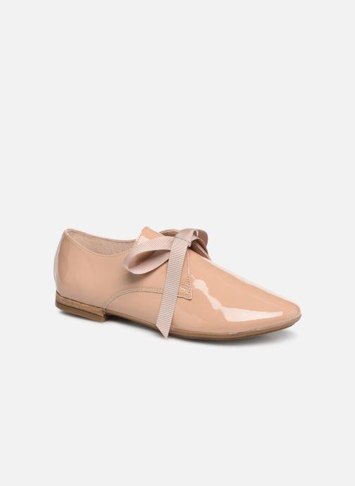 Zapatos con cordones Georgia Rose Astral Beige vista de detalle / par