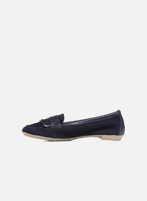 Loafers Georgia Rose Acacia soft Blue front view