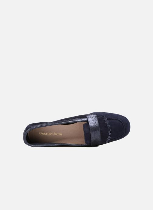 Loafers Georgia Rose Acacia soft Blue view from the left