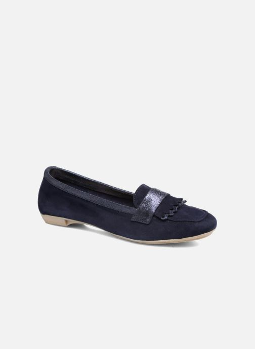Loafers Georgia Rose Acacia soft Blue detailed view/ Pair view