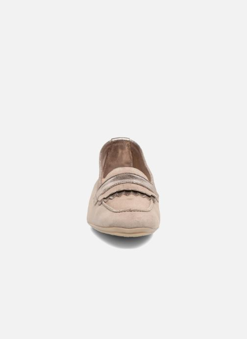 Mocassins Georgia Rose Acacia soft Beige vue portées chaussures