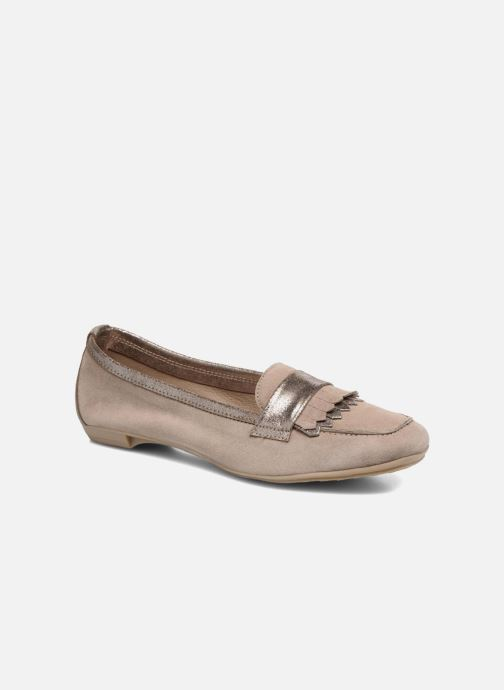 Mocassins Georgia Rose Acacia soft Beige vue détail/paire