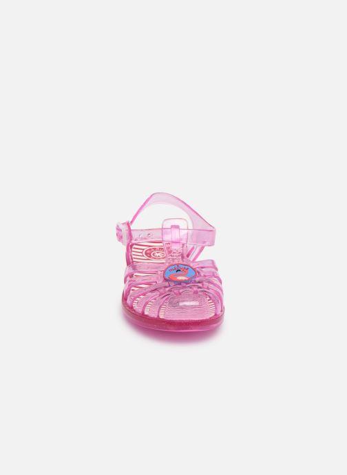 Sandali e scarpe aperte Méduse Sunpatch Rosa modello indossato