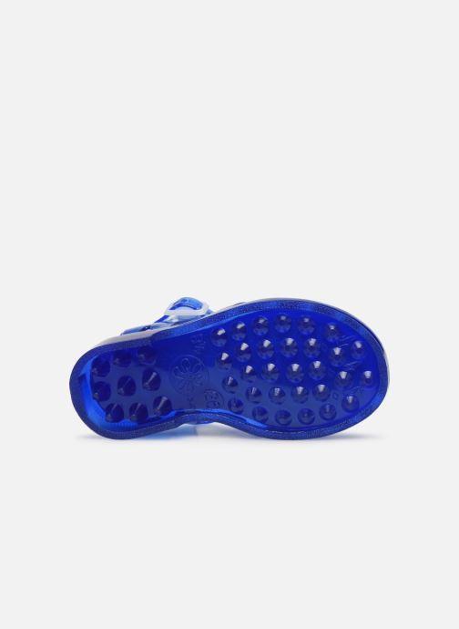 Sandales et nu-pieds Méduse Sunpatch Bleu vue haut