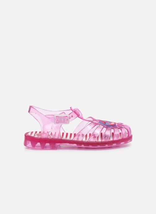 Sandalen Méduse Sunpatch rosa ansicht von hinten