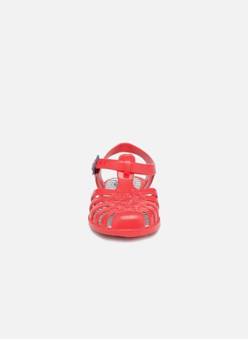 Sandales et nu-pieds Méduse Sunray Rouge vue portées chaussures