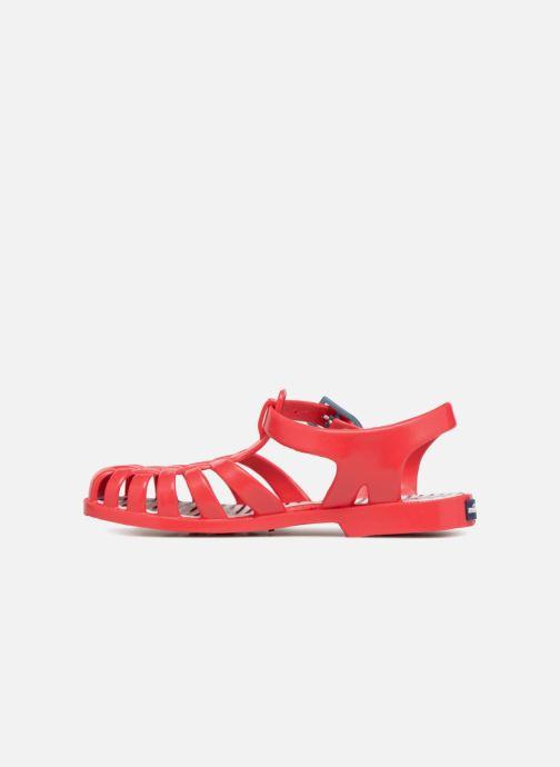 Sandales et nu-pieds Méduse Sunray Rouge vue face