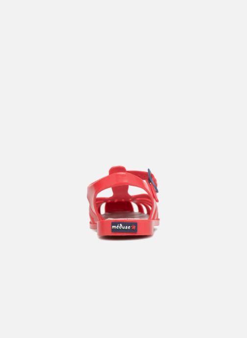 Sandales et nu-pieds Méduse Sunray Rouge vue droite