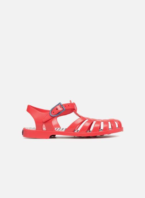 Sandales et nu-pieds Méduse Sunray Rouge vue derrière