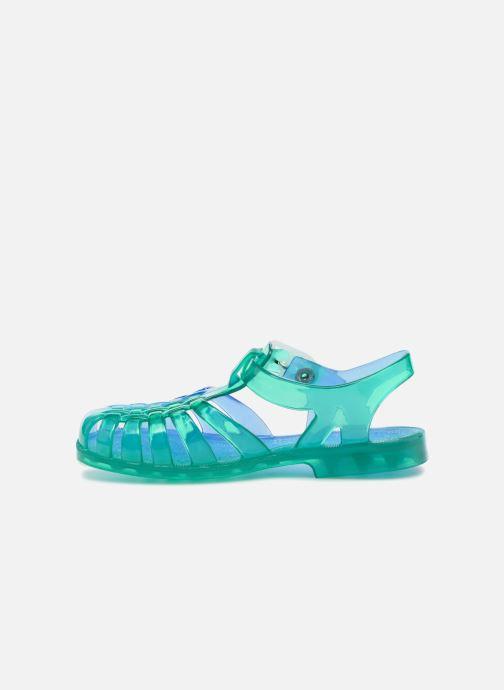 Sandales et nu-pieds Méduse Suntri Bleu vue face