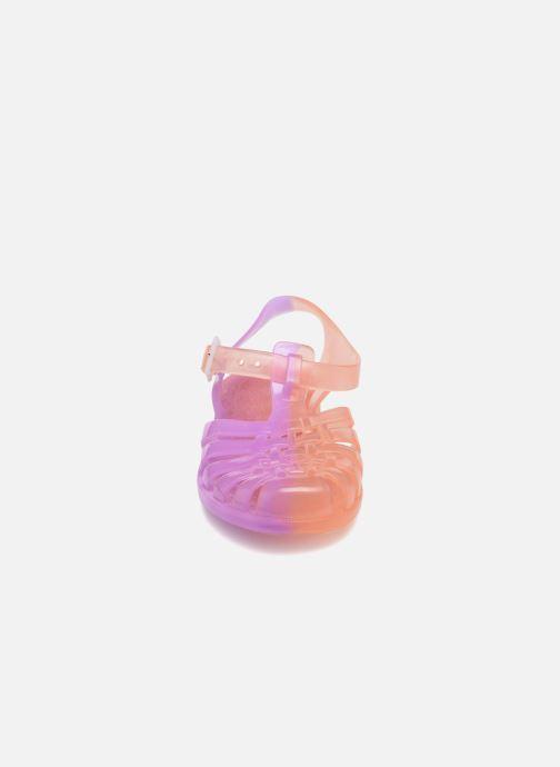 Sandales et nu-pieds Méduse Suntri Orange vue portées chaussures
