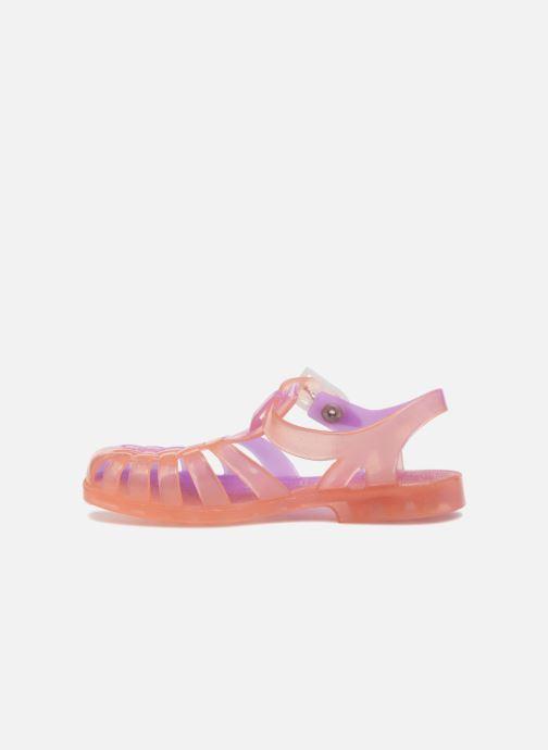 Sandales et nu-pieds Méduse Suntri Orange vue face
