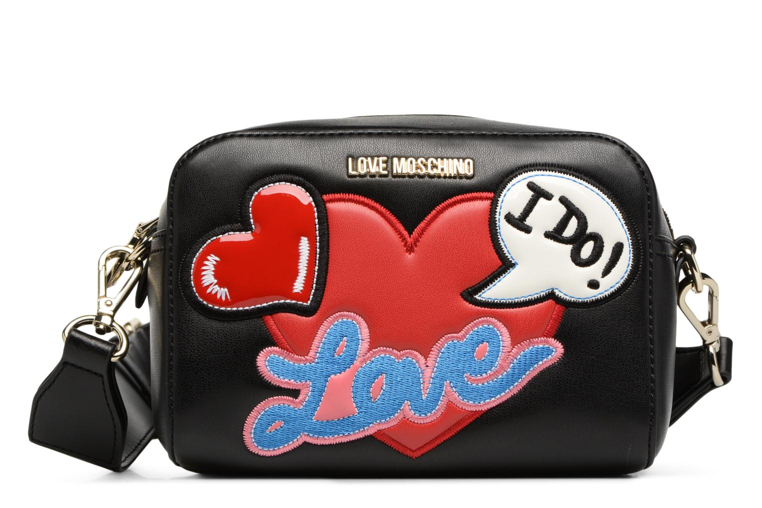 Moschino Love Black 000 Crossbody Patches 6wS1AxqB