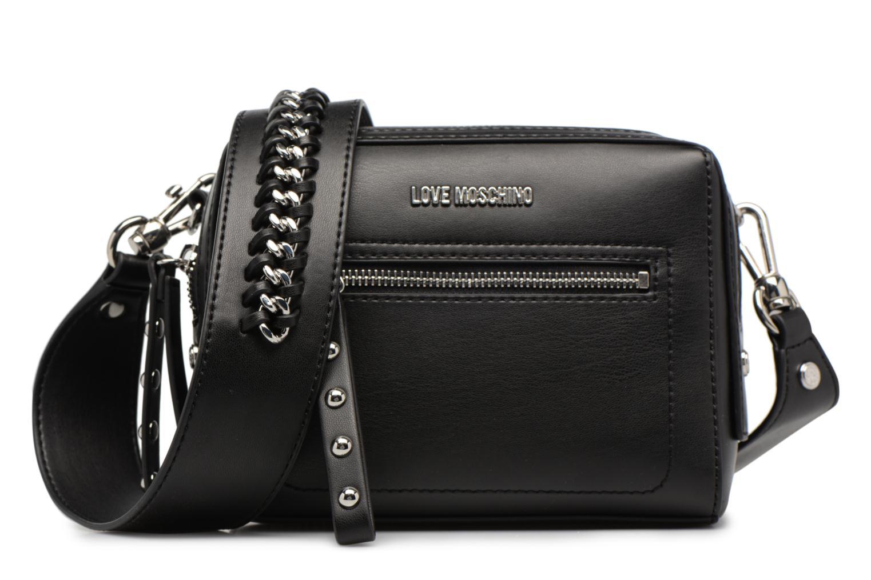 Sacs à main Love Moschino Crossbody Chain Strap Noir vue détail/paire