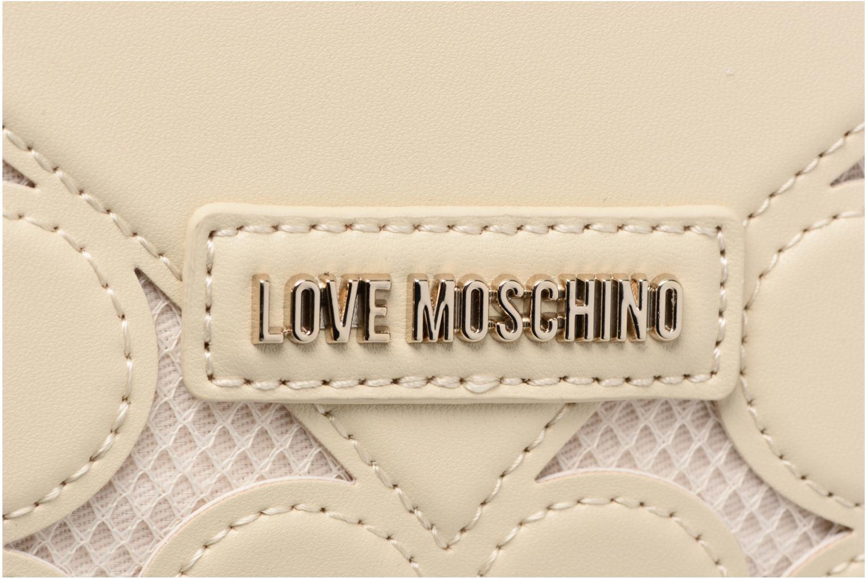 Love 10A IVORY Intarsia épaule Love Moschino Porté YqIwrnXFY