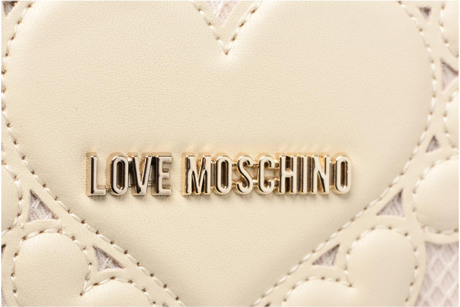 10A Love Portefeuille IVORY Moschino Intarsia Love 11zqZxnBw4