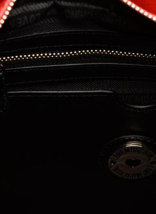 Moschino À Chez Main rouge 313653 Logo Porté Sacs Love 7xO6vqx