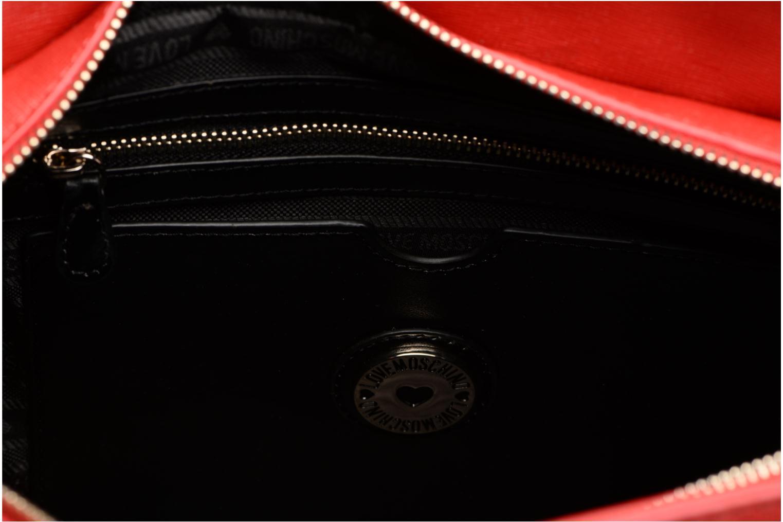 Sacs à main Love Moschino Porté main Love Moschino Logo Rouge vue derrière