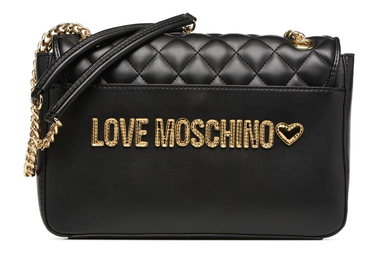 Sacs à main Love Moschino Porté épaule Super Quilted Noir vue face
