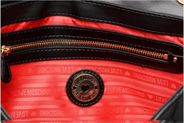 Sacs à main Love Moschino Porté épaule Super Quilted Noir vue derrière