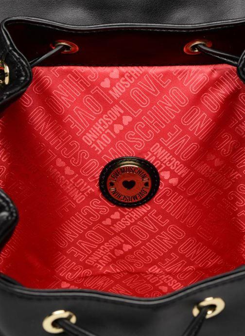 Zaini Love Moschino Sac à dos Super Quilted Nero immagine posteriore