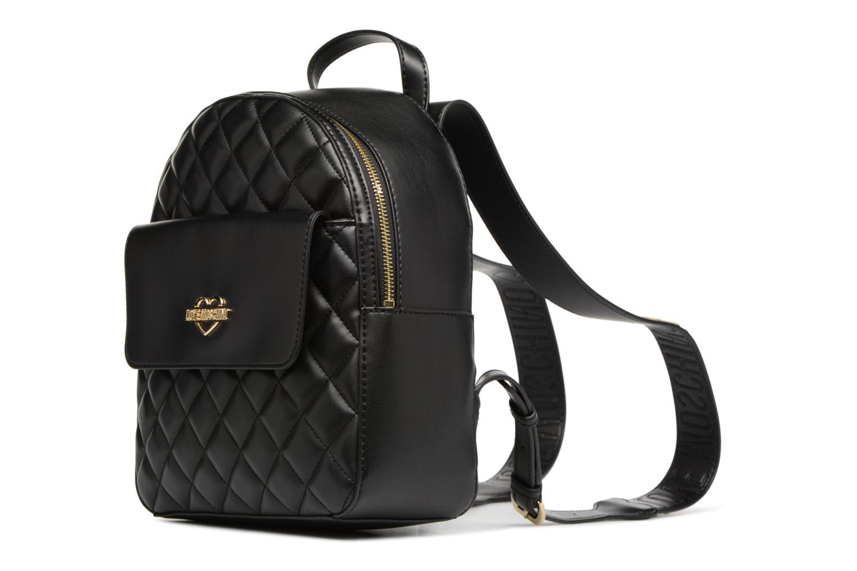Rugzakken Love Moschino Sac à dos Super Quilted Zwart model