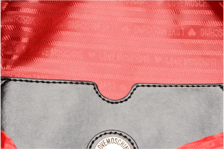 Rugzakken Love Moschino Sac à dos Super Quilted Zwart achterkant
