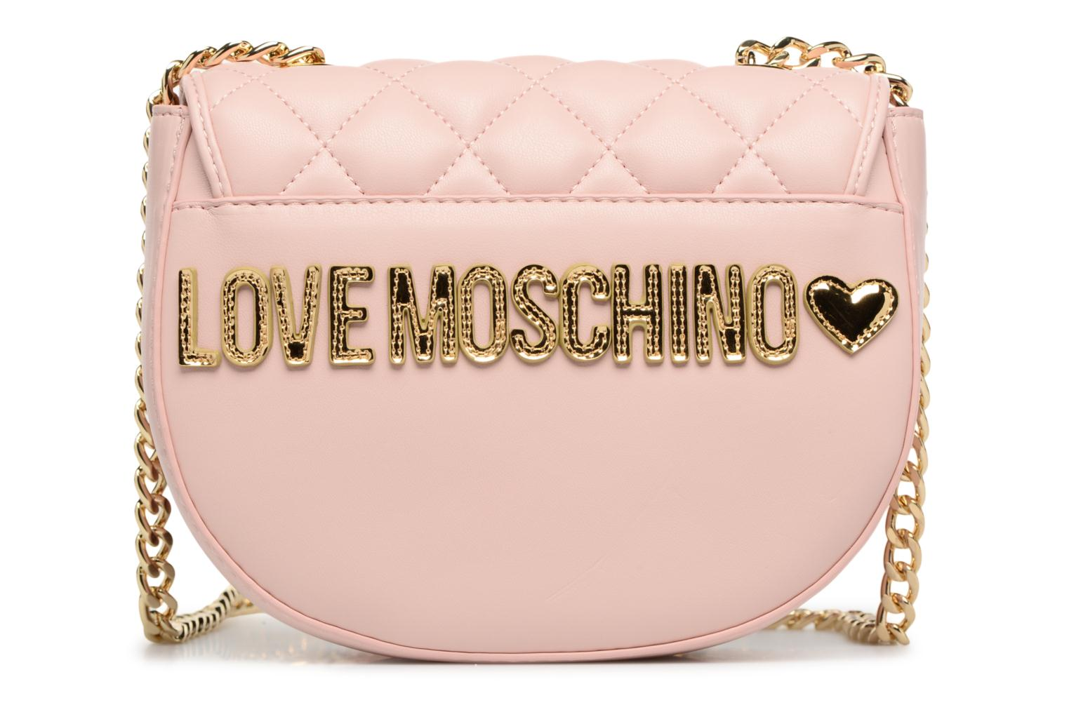 Sacs à main Love Moschino Crossbody Super Quilted Rose vue face
