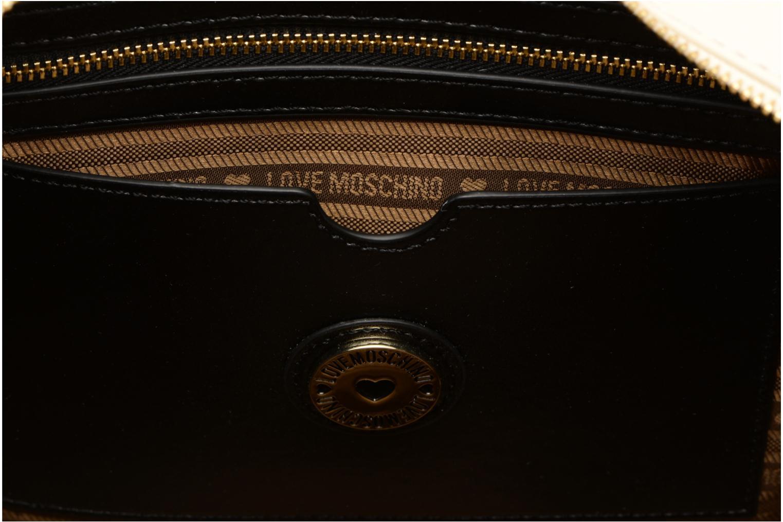 Handtassen Love Moschino Cabas Chaine Super Quilted Wit achterkant