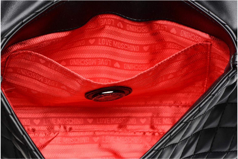 Borse Love Moschino Evening Bag Chaine Quilted Nero immagine posteriore