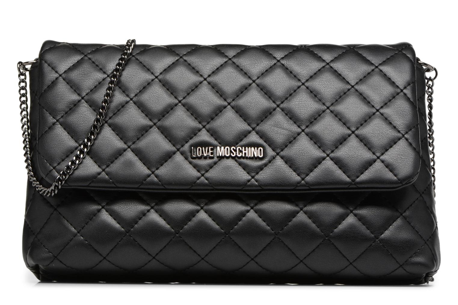 Sacs à main Love Moschino Evening Bag Chaine Quilted Noir vue détail/paire
