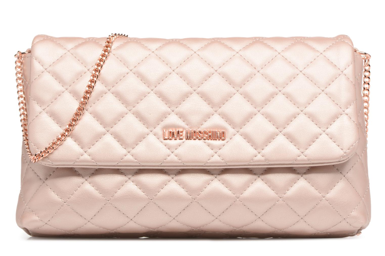 Borse Love Moschino Evening Bag Chaine Quilted Rosa vedi dettaglio/paio