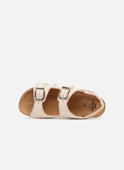 Sandales et nu-pieds PèPè Mia Rose vue gauche