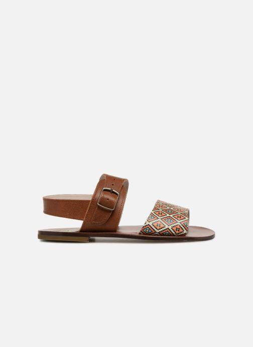 Sandales et nu-pieds PèPè Anouk Marron vue derrière