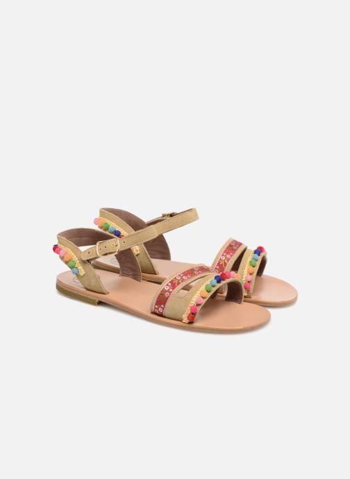 Sandales et nu-pieds PèPè Mao Multicolore vue 3/4