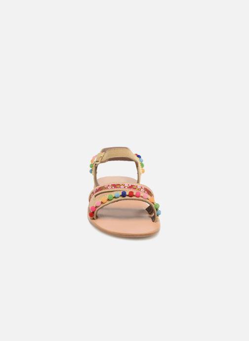 Sandales et nu-pieds PèPè Mao Multicolore vue portées chaussures
