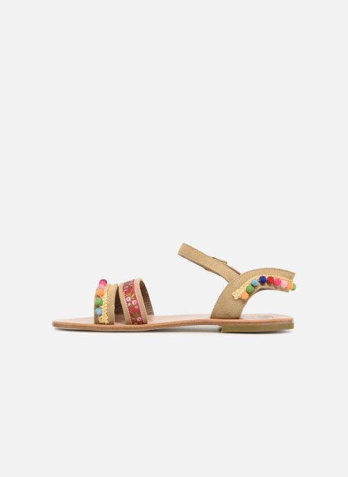 Sandales et nu-pieds PèPè Mao Multicolore vue face