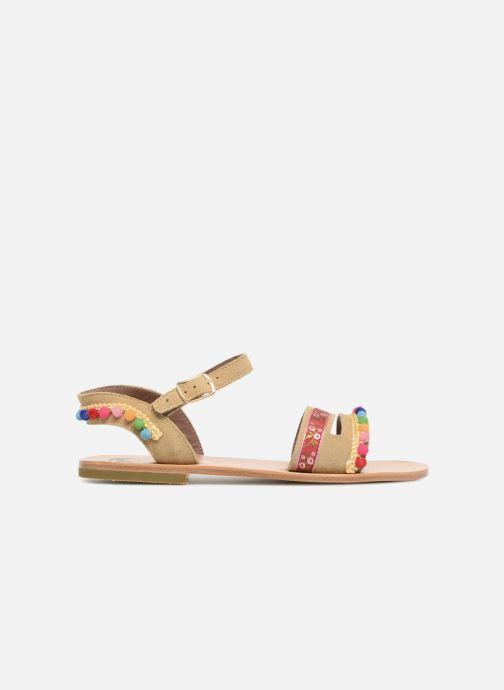 Sandales et nu-pieds PèPè Mao Multicolore vue derrière
