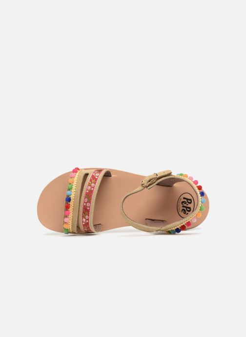 Sandales et nu-pieds PèPè Mao Multicolore vue gauche