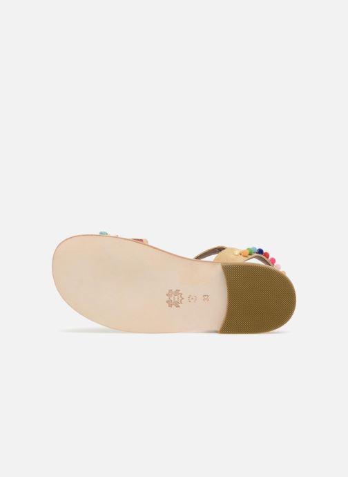 Sandales et nu-pieds PèPè Mao Multicolore vue haut