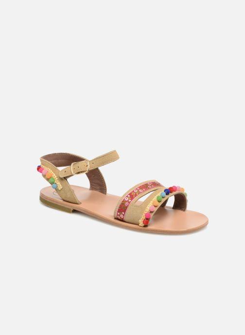 Sandales et nu-pieds PèPè Mao Multicolore vue détail/paire