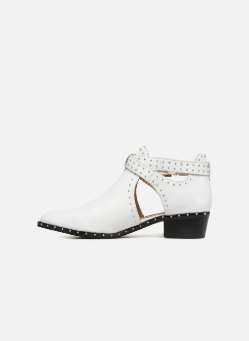 Bottines et boots Bronx BTEX-CHUNKY Blanc vue face