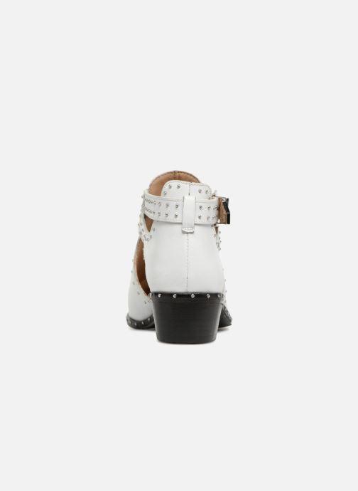 Bottines et boots Bronx BTEX-CHUNKY Blanc vue droite