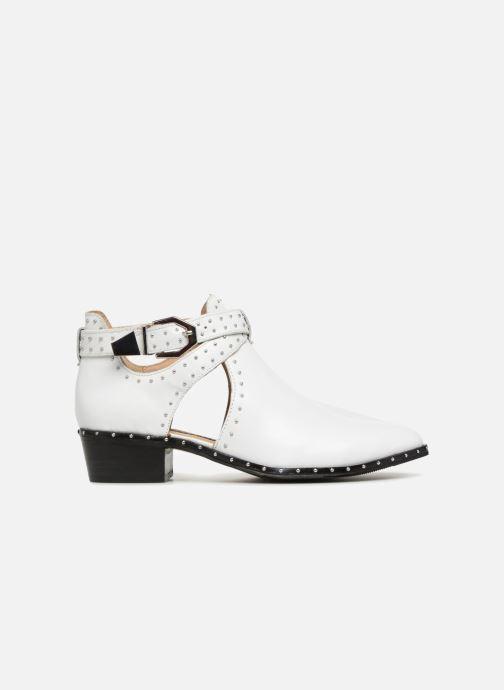 Bottines et boots Bronx BTEX-CHUNKY Blanc vue derrière